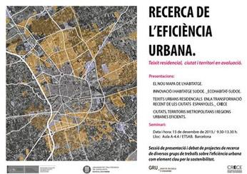 Recerca de l' eficiència urbana