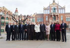 Barcelona inaugura el recinte modernista de l'Hospital de Sant Pau