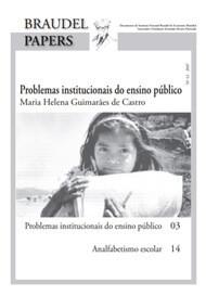 Ed. 42 – Problemas Institucionais do Ensino Público