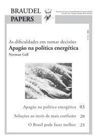 Ed. 32 – Apagão na Política Energética