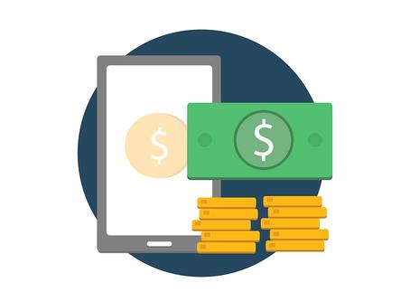 O dinheiro e as moedas virtuais