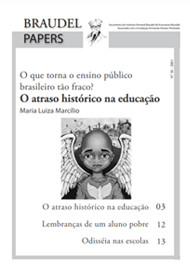 Ed. 30 – O Atraso Histórico na Educação