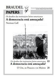 Ed. 35 – A Democracia está Ameaçada?
