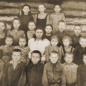 Первые послевоенные ученики