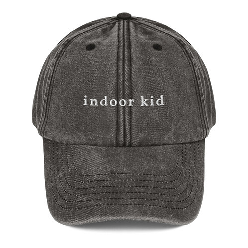 indoor kid - Vintage Hat