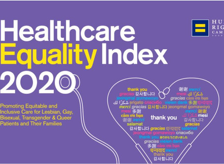 Human Rights Campaign releases the 2020 Healthcare Equality Index