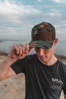 Grand Ave Camo Trucker Hat