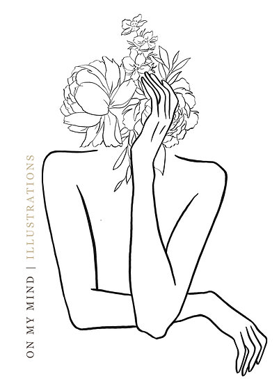 On my Mind | Original Illustration