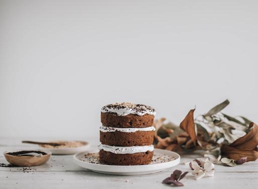 One Bowl Hazelnut Carrot Cake - Vegan/Gluten Free