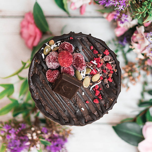 11cm Double Chocolate Celebration Cakes