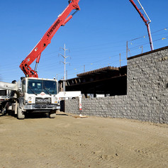 Pouring 2nd floor concrete slab