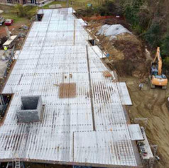 2nd floor pan for cement slab