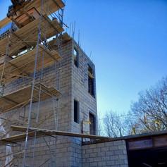 stair tower 2nd floor