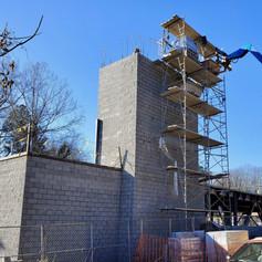 Stair tower third floor