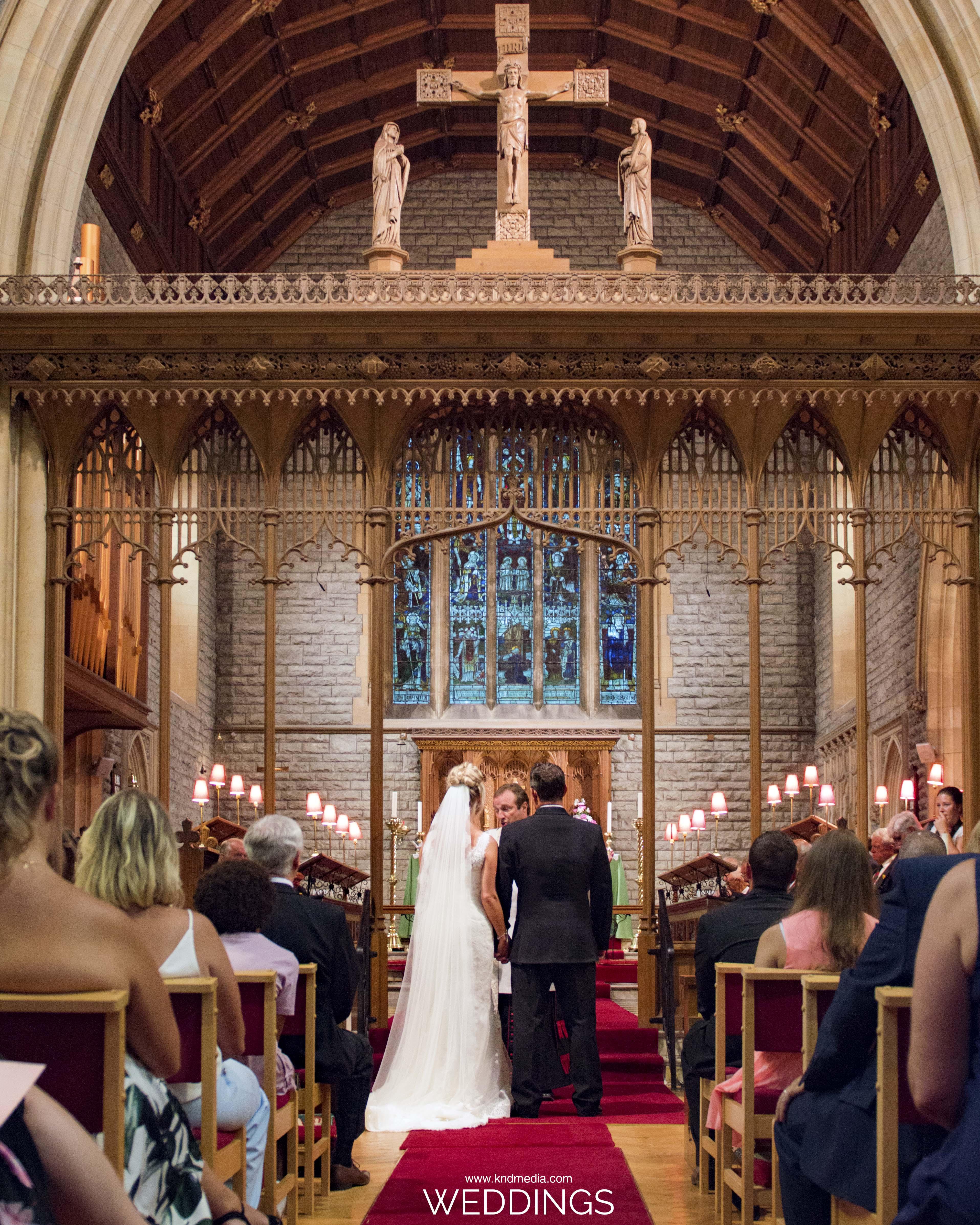 KND Media Weddings - Church Ceremony