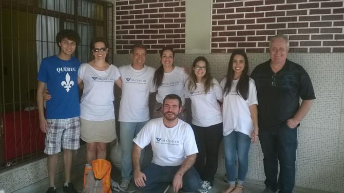 Dia de Lasanha - Funcionários da Andritz visitam a Amamos