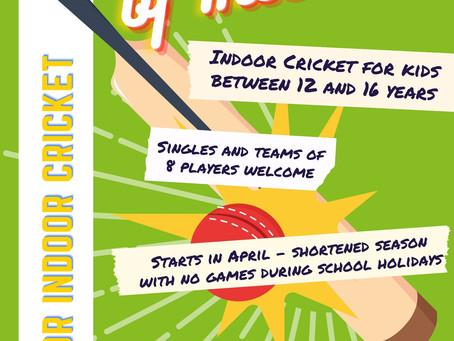 Junior Indoor Cricket