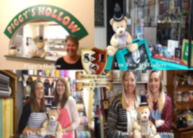 Henry Hansom goes visiting local shops!