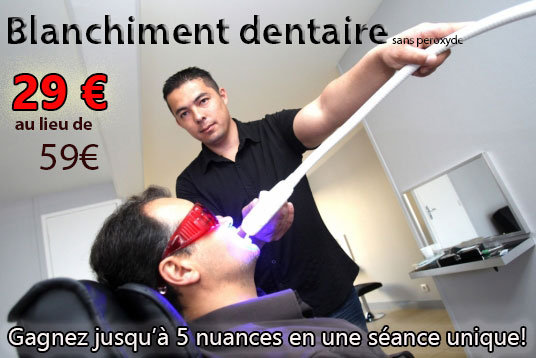 Blanchiment dentaire EXTREME (59€)