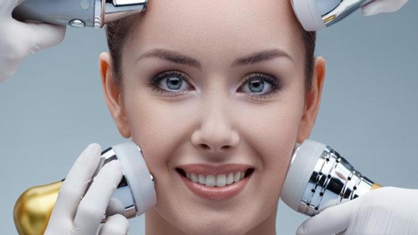 5x Radiofréquence anti-rides visage