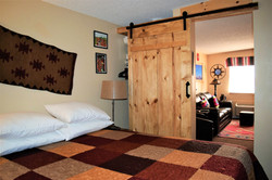 Prickly Pear Adobe Cabin queen bed