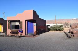 Desert Juniper Adobe Cabin