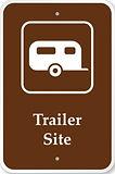 Trailer-Site-Campground-Park-Sign-K-8003