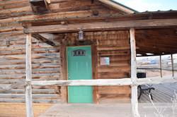 Big Horn Log Cabin porch