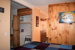 Desert Juniper Adobe Cabin closet