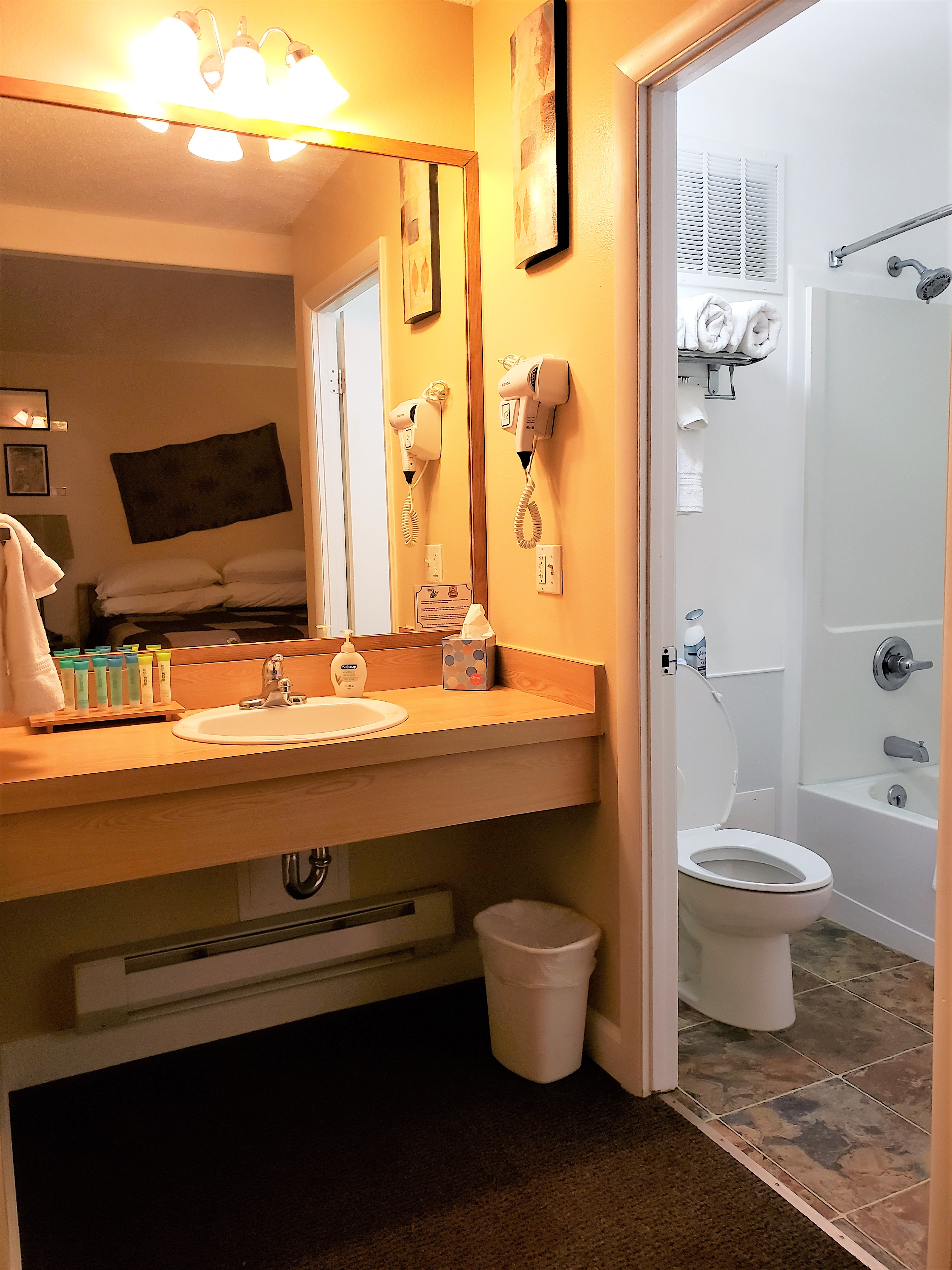 Prickly Pear Adobe Cabin bathroom sink