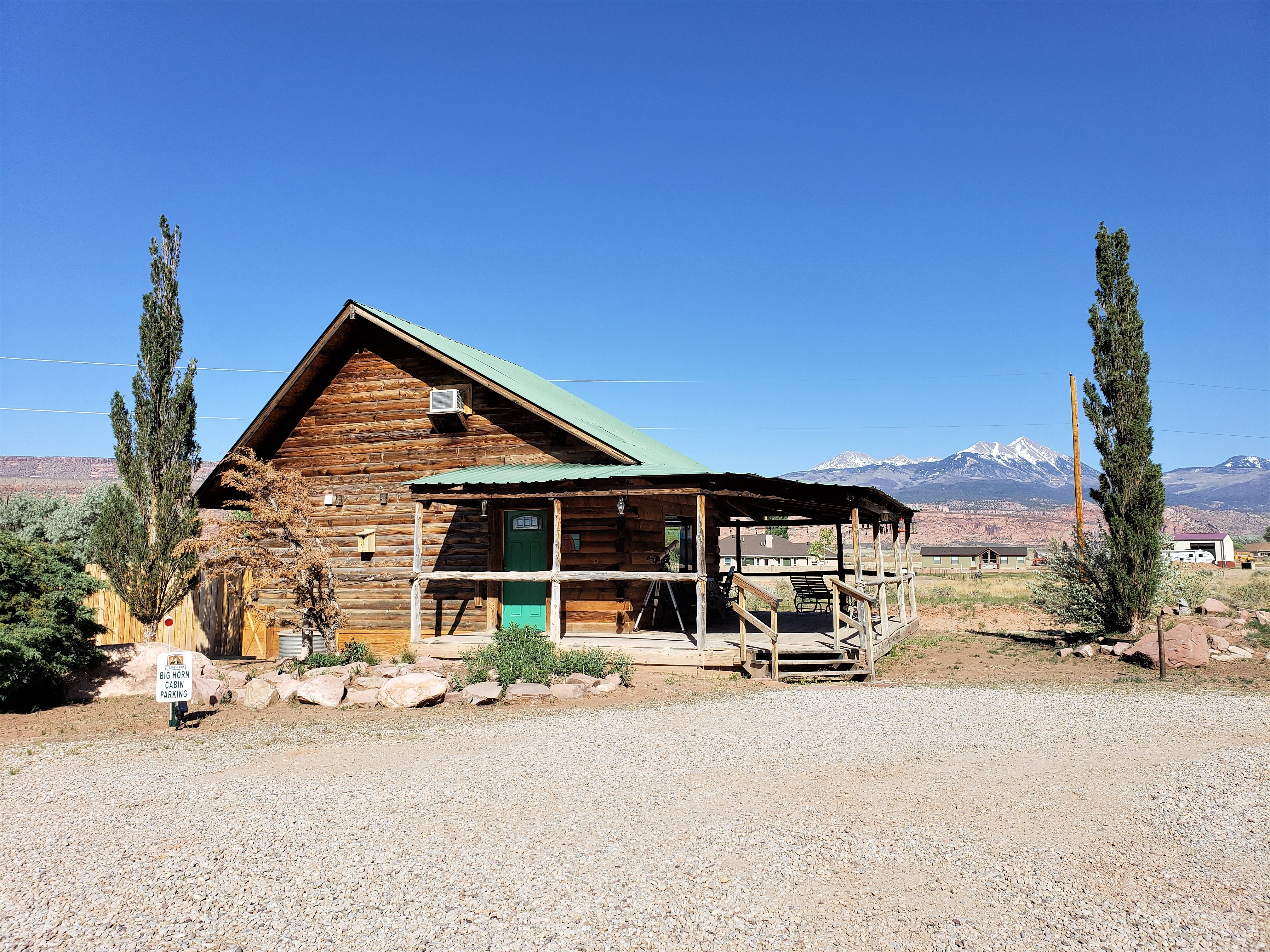 Big Horn Log Cabin