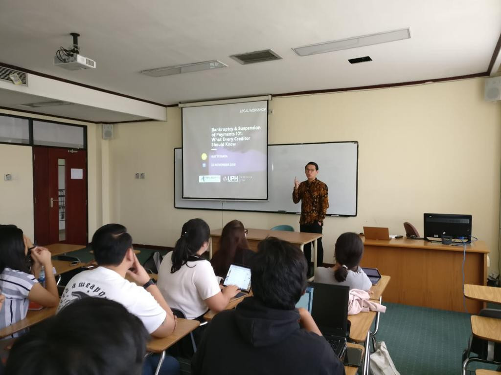 UPH - Bankruptcy Public Lecture