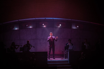Michael Buble 2021 Tour Photo by Ty Helbach, Fiserv Forum