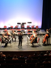 Conducting the MSOE Orchestra, Marcus Center for the Performing Arts