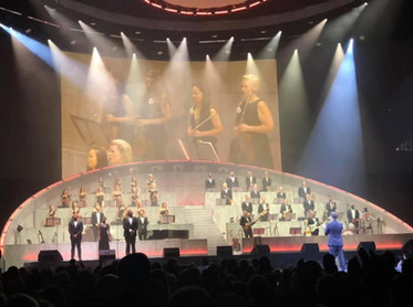 Audience Photo Michael Buble 2021 Tour