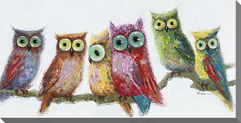 Owls in a Row (PAY NO TAX)