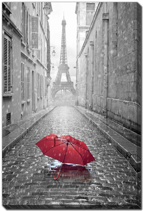 Eiffel Tower Red (PAY NO TAX)