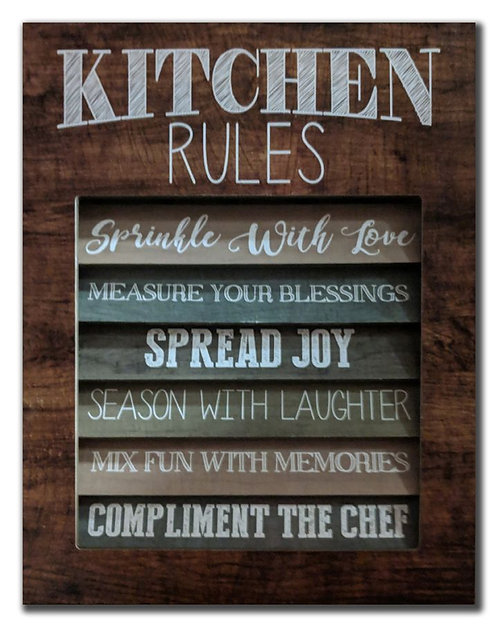 Kitchen Rules (PAY NO TAX)