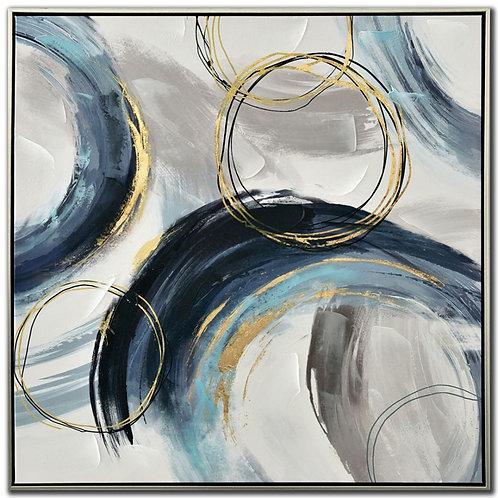 Blue Swirls II (PAY NO TAX)