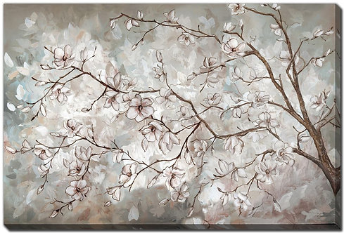 Magnolia Branches Neutral (PAY NO TAX)