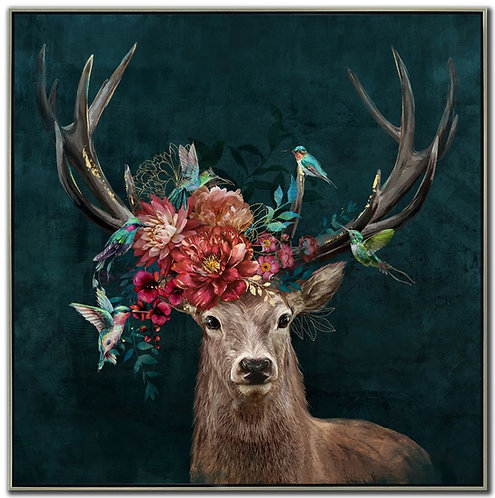 Floral Antlers (PAY NO TAX)