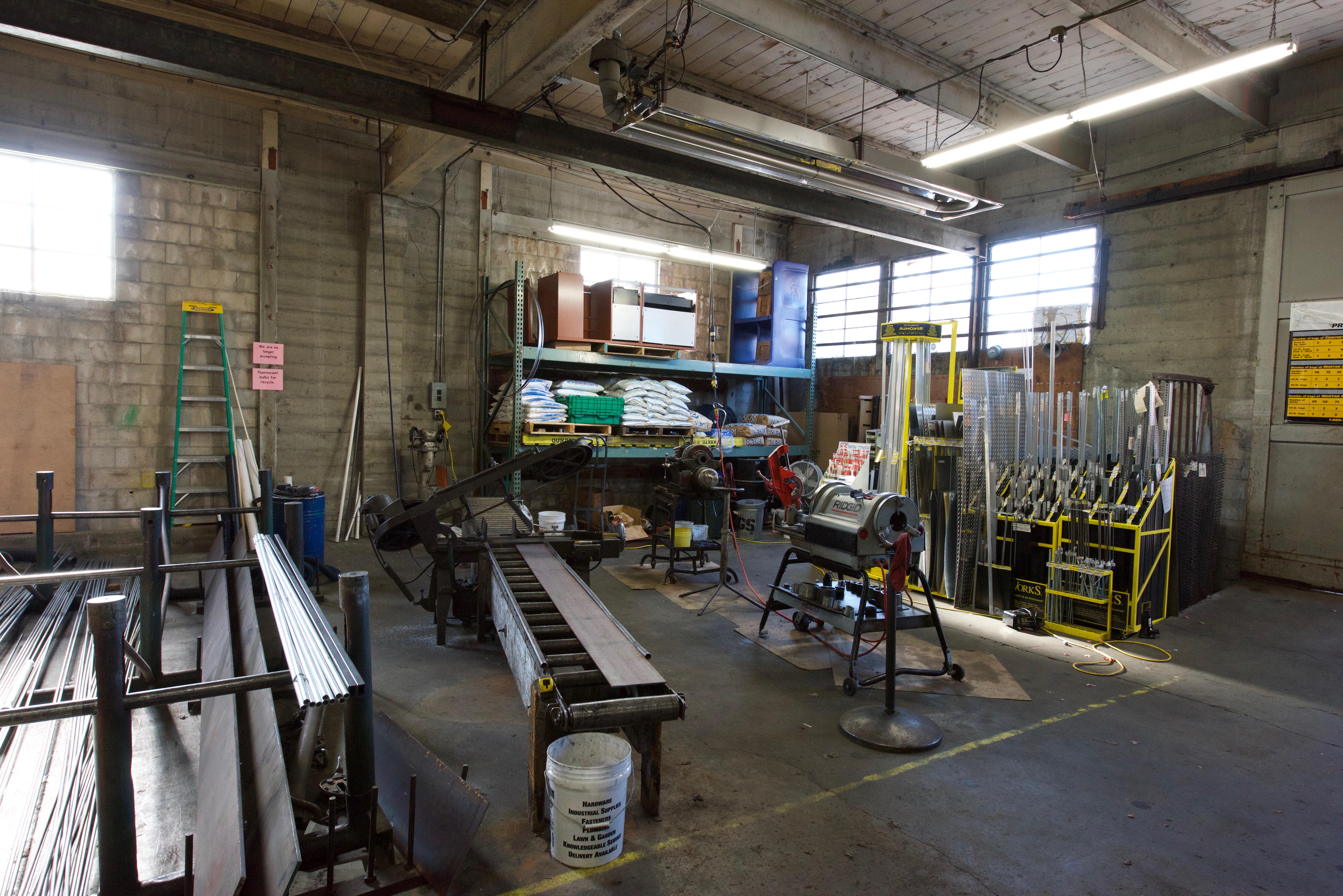 Steel&Pipe Cutting Area