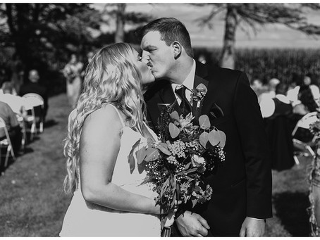 Grace & Justin's Beautiful Backyard Wedding - Buffalo, MN