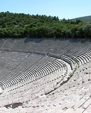ancient theaters near Doroufi, Koilas, Portoheli, Argolis