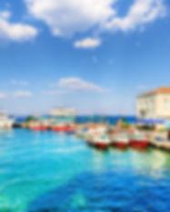 spetses island view