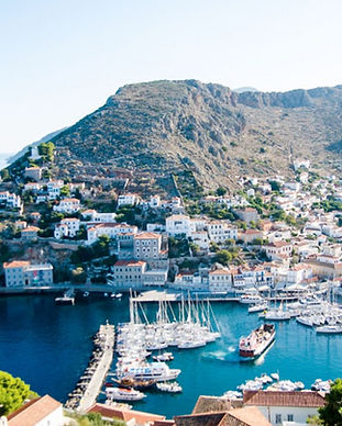 Hydra island view