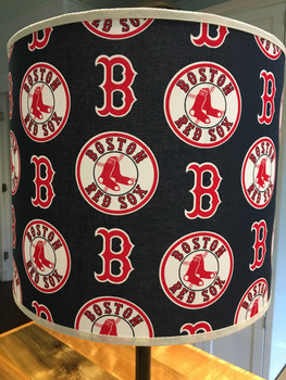 Boston Red Sox Drum Shade