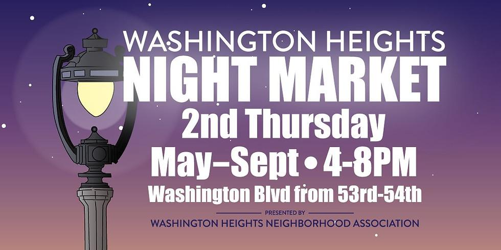 Washington Heights Night Market (July 8)