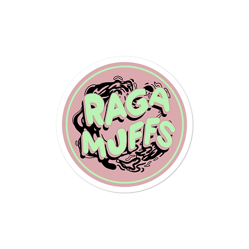 "Sweet Pink Circle Sticker (3"" x 3"")"
