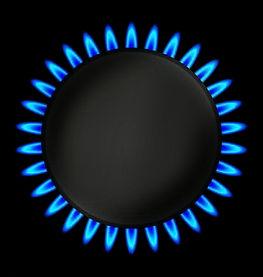 burning-gas-ring-stove-vector-illustrati